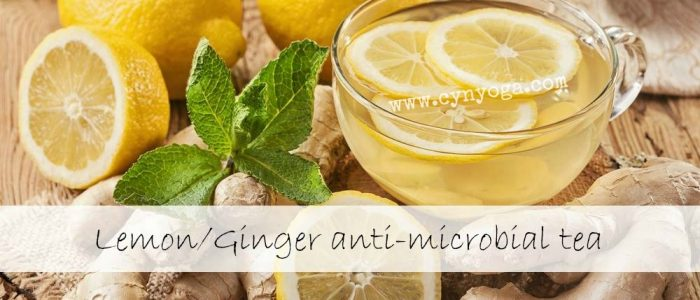 Anti-microbial tea to the rescue!