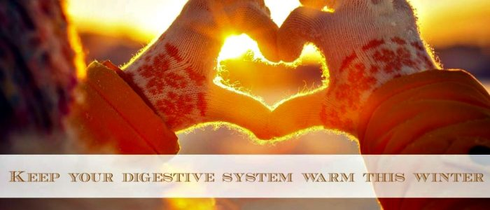 5 ways to rev up your digestive system this winter!